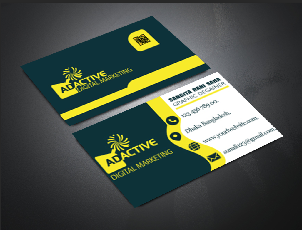make stylist professional businesscard for you