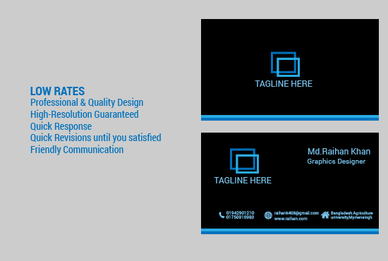 Professional & Quality Design Business Card For You
