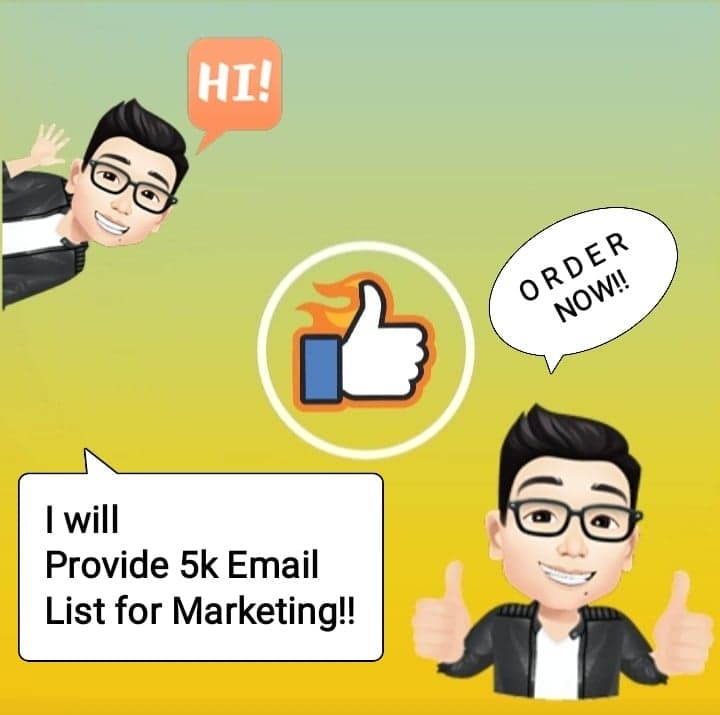 I will give you 5k USA consumer email list