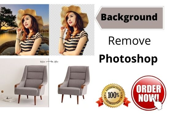 I will remove any background from 15 images by photoshop