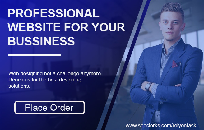 I will build a professional website for your business that easy to control