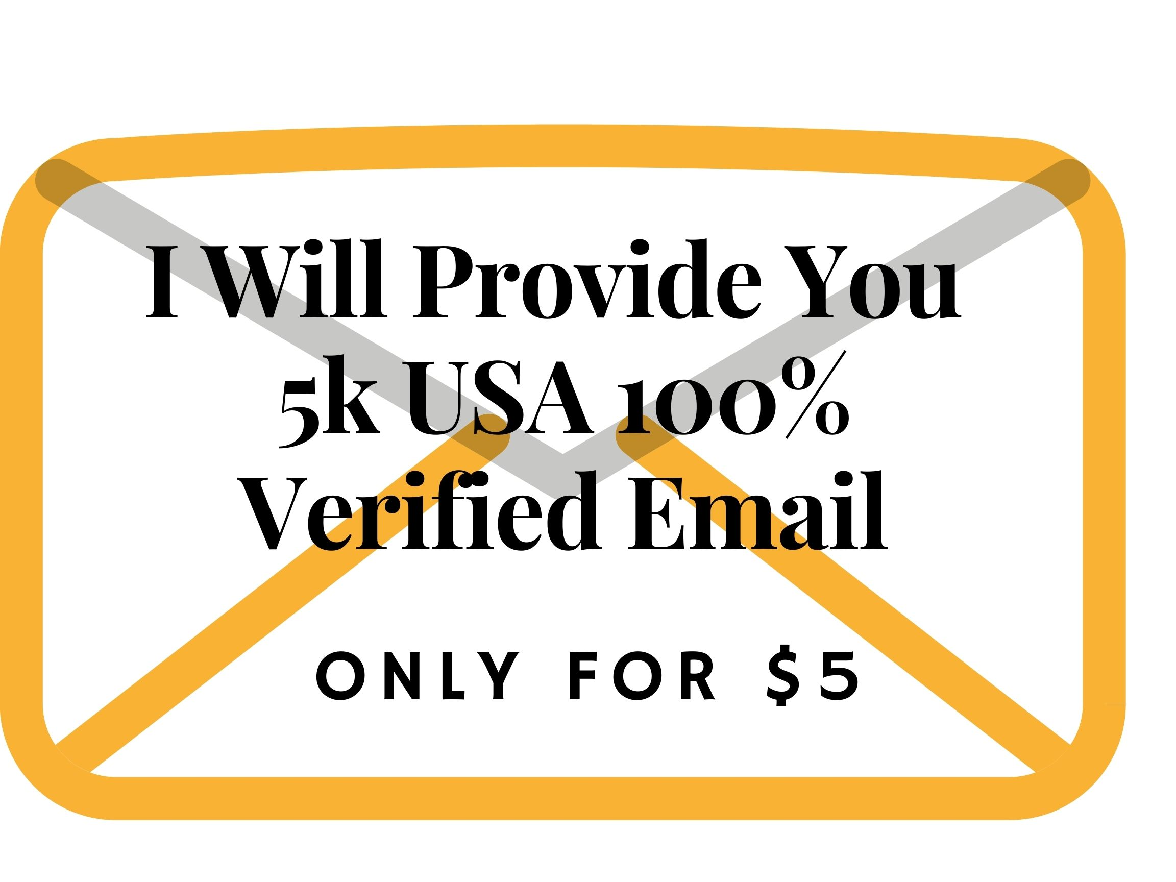 I will provide You 100 Verified USA email list