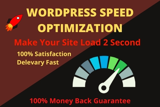 I will provide you WordPress speed Optimization