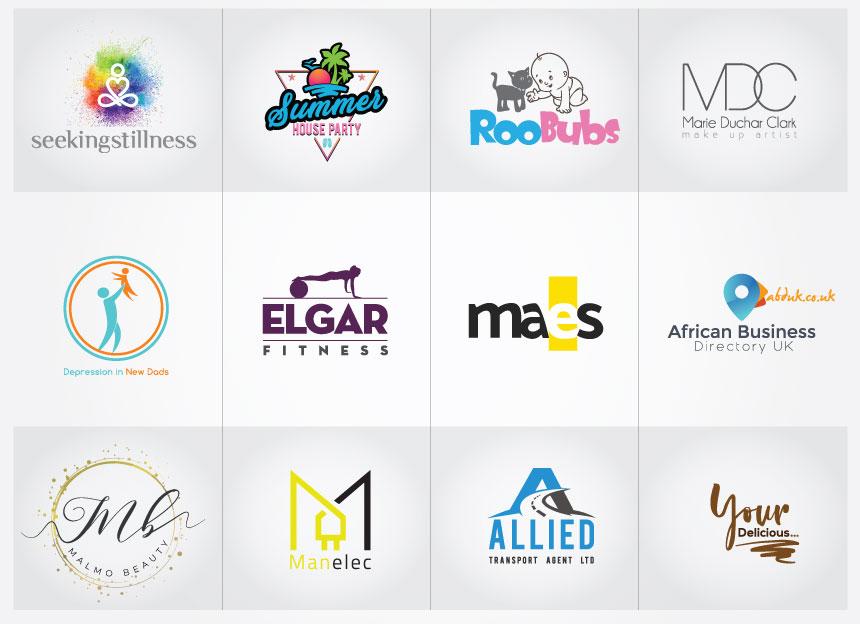 I will design,  modern minimalist logo free vector files