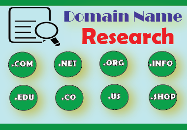 Will Research an Ideal Domain Name