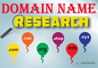 I will research unique domain name for your Business within 24 hours