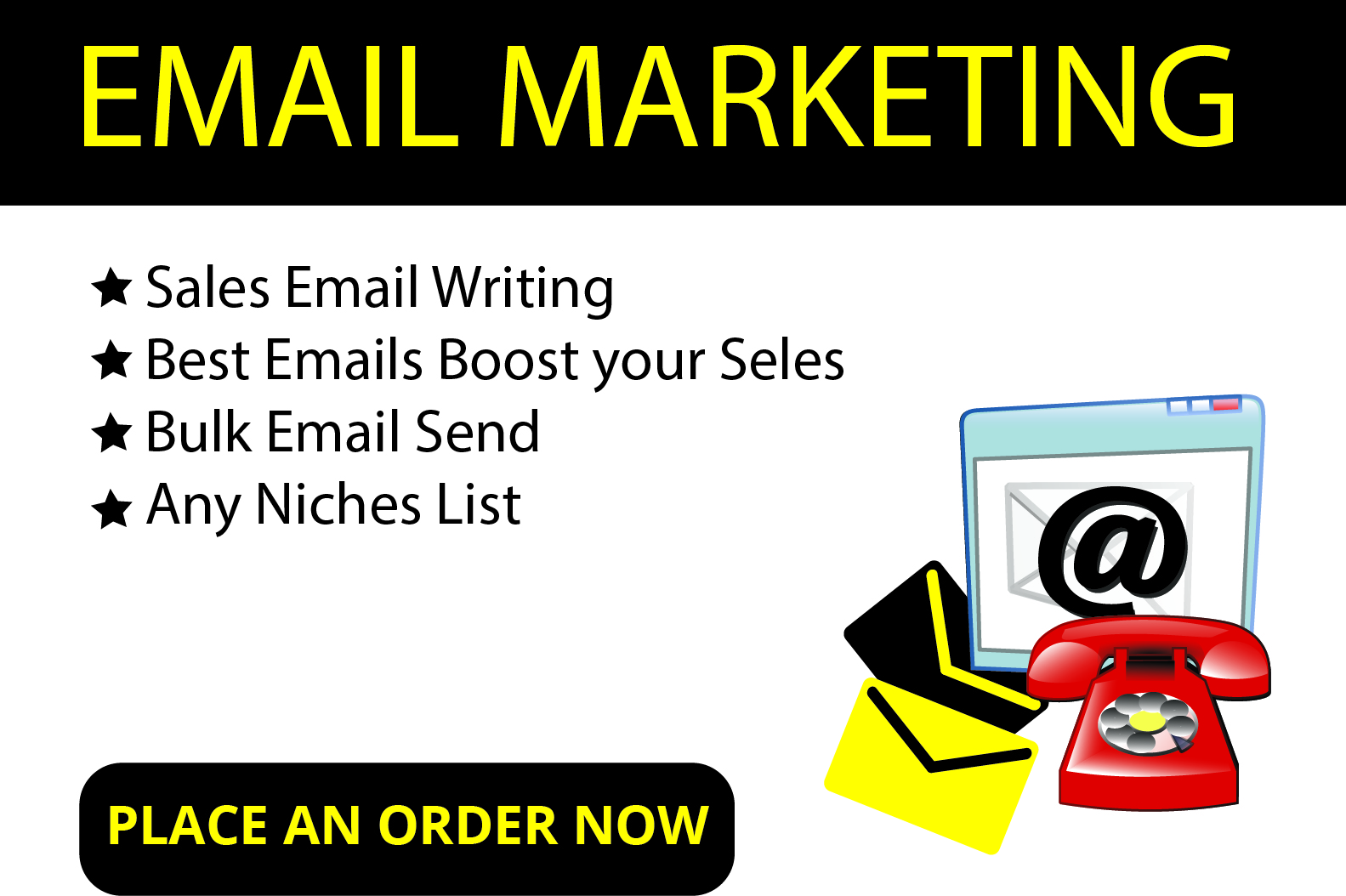 I will write professional content for email marketing campaign