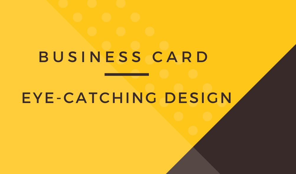 I Will Design Impressive Staples Business Card