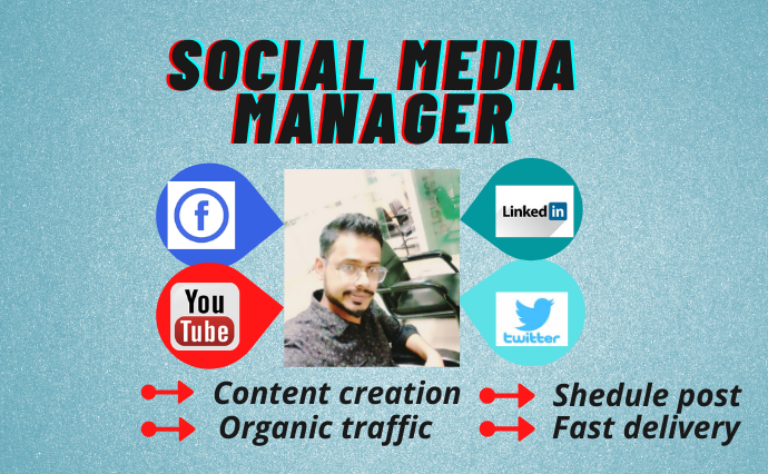 I Will Exist Your Social Media Manager And Content creator