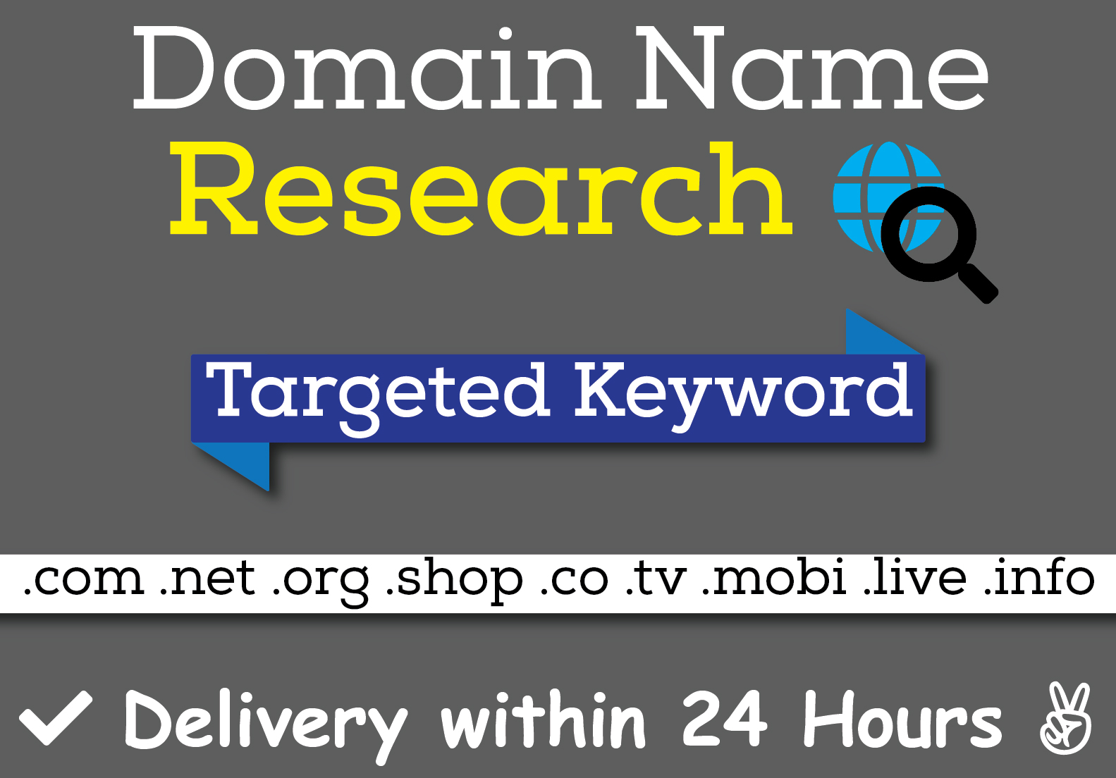 I will do the best Domain name research on your niche