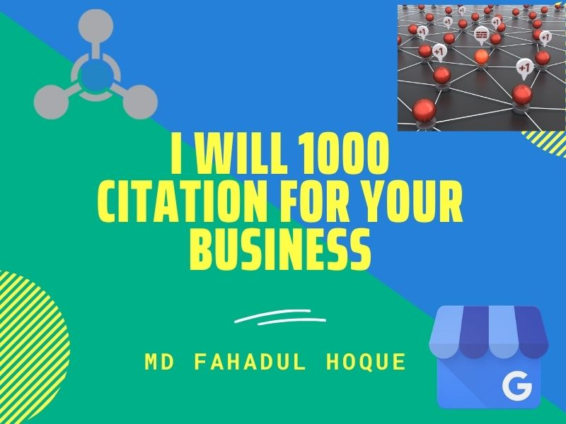 I will do 1000 Citation for your Google My Business