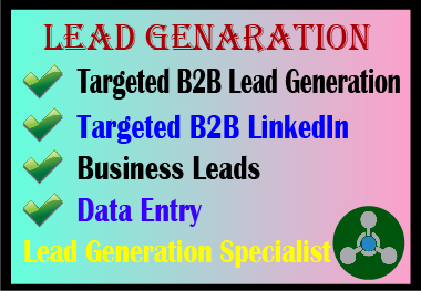 I will be expert in Lead generation and E-mail extractors