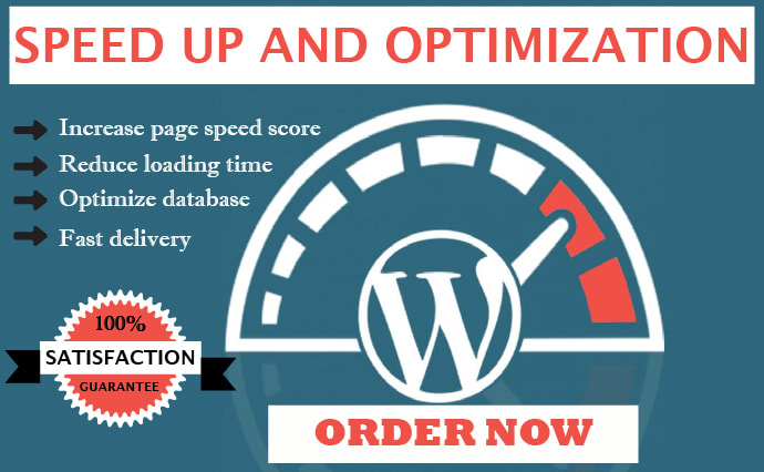 I will do WordPress website speed optimization and increase page speed