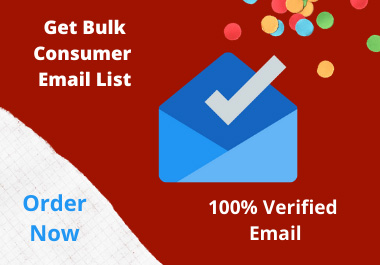 I will scrape 1000 consumer email for you