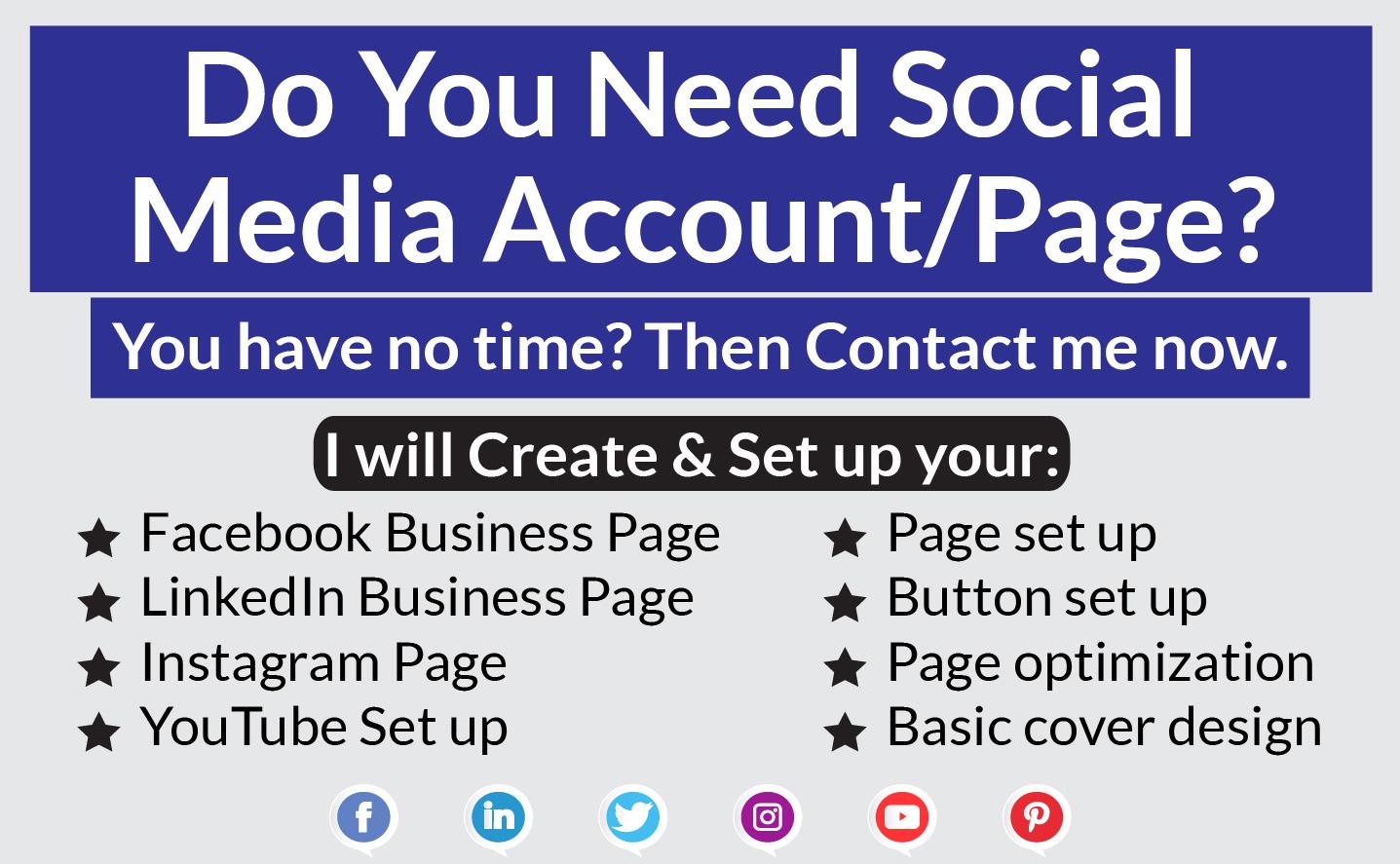 create impressive and seo optimized facebook business page