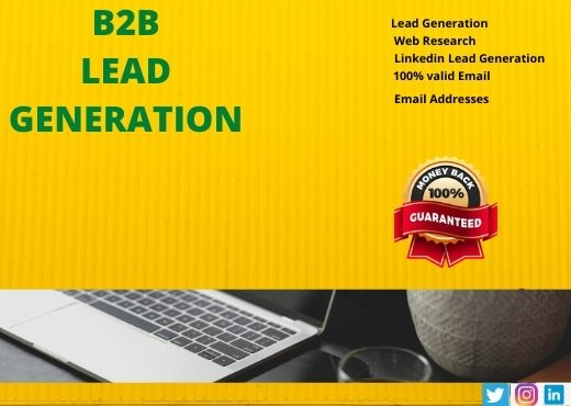 I will do targeted b2b lead generation and build contacts list