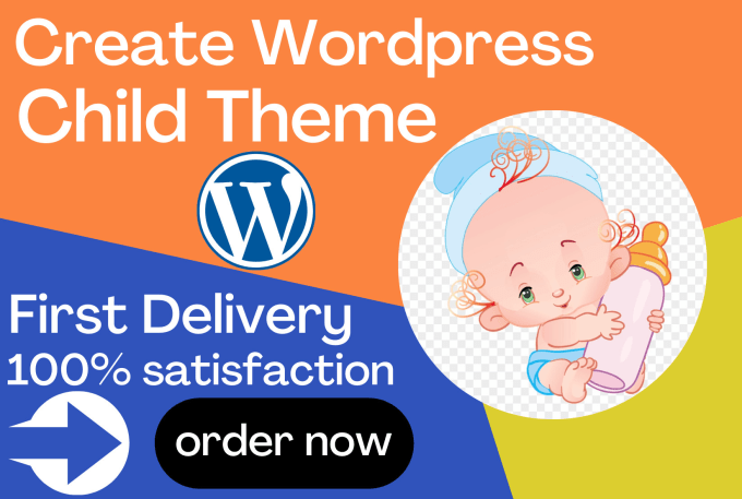 Create child theme wordpress website with plugin in 6 Hours