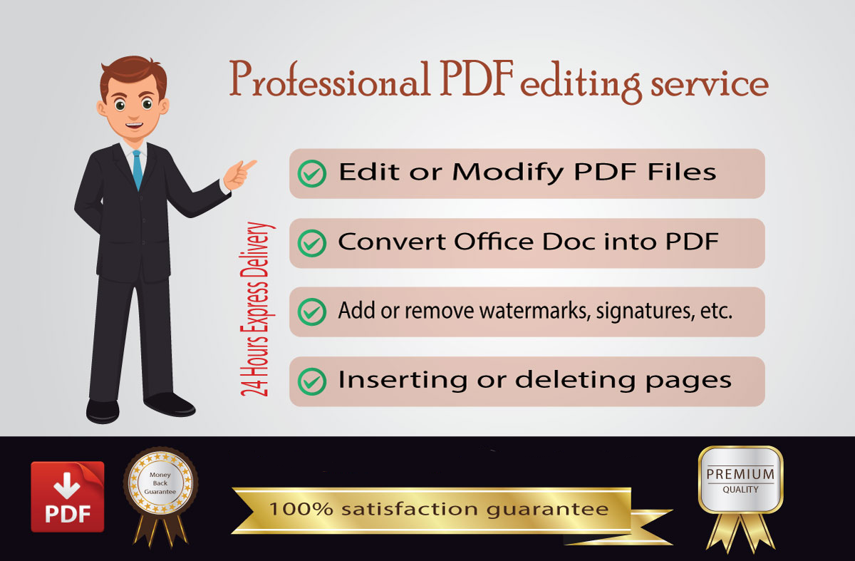 I will do pdf conversion to word excel or powerpoint upto 200 pages upto