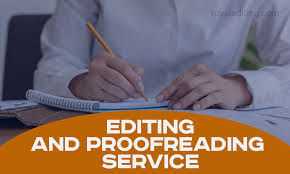I will be your professional proofreader and editor