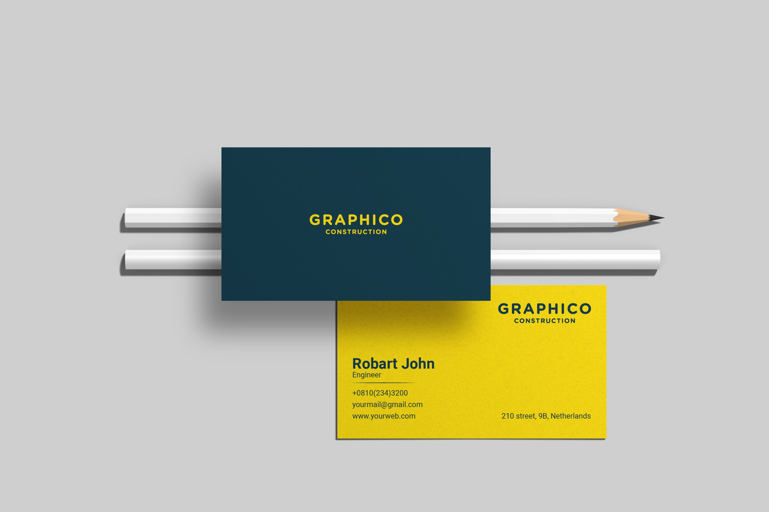 I will design amazing and Minimalist business card for you