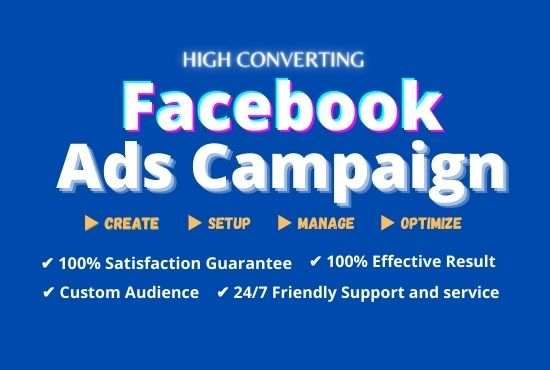 I will setup profitable facebook instagram ads campaign for your business