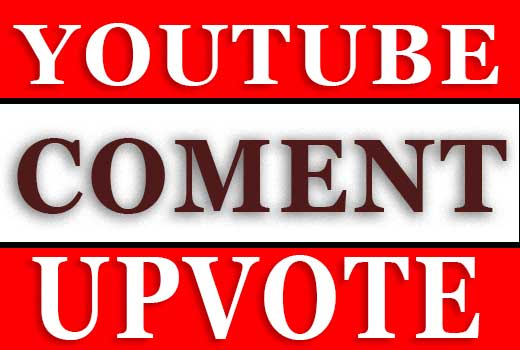 Give you 25+ Youtube video CommentUpvotes