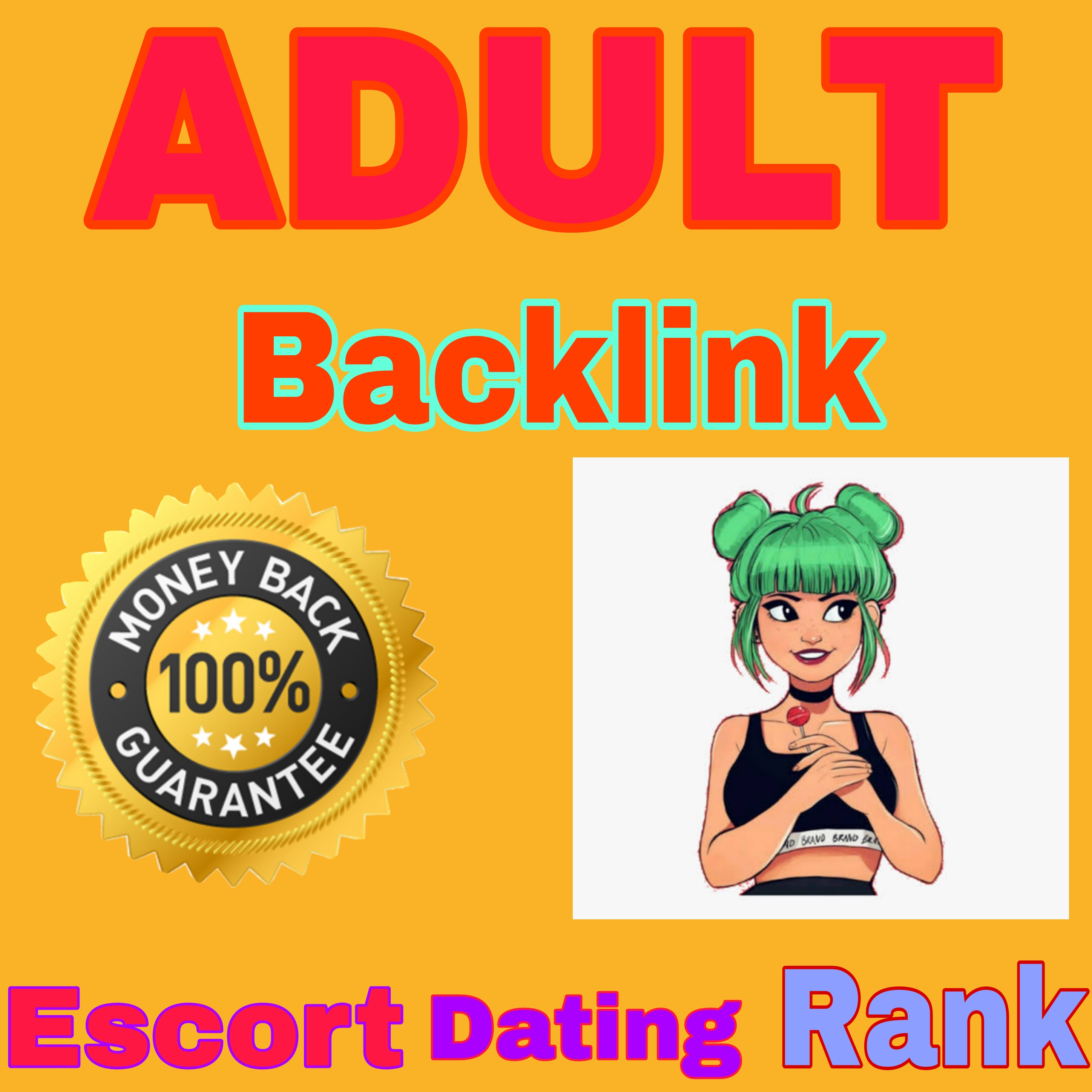 18+ 300+ High Authority Backlinks For Adult site/Escorts/Dating For rank on google