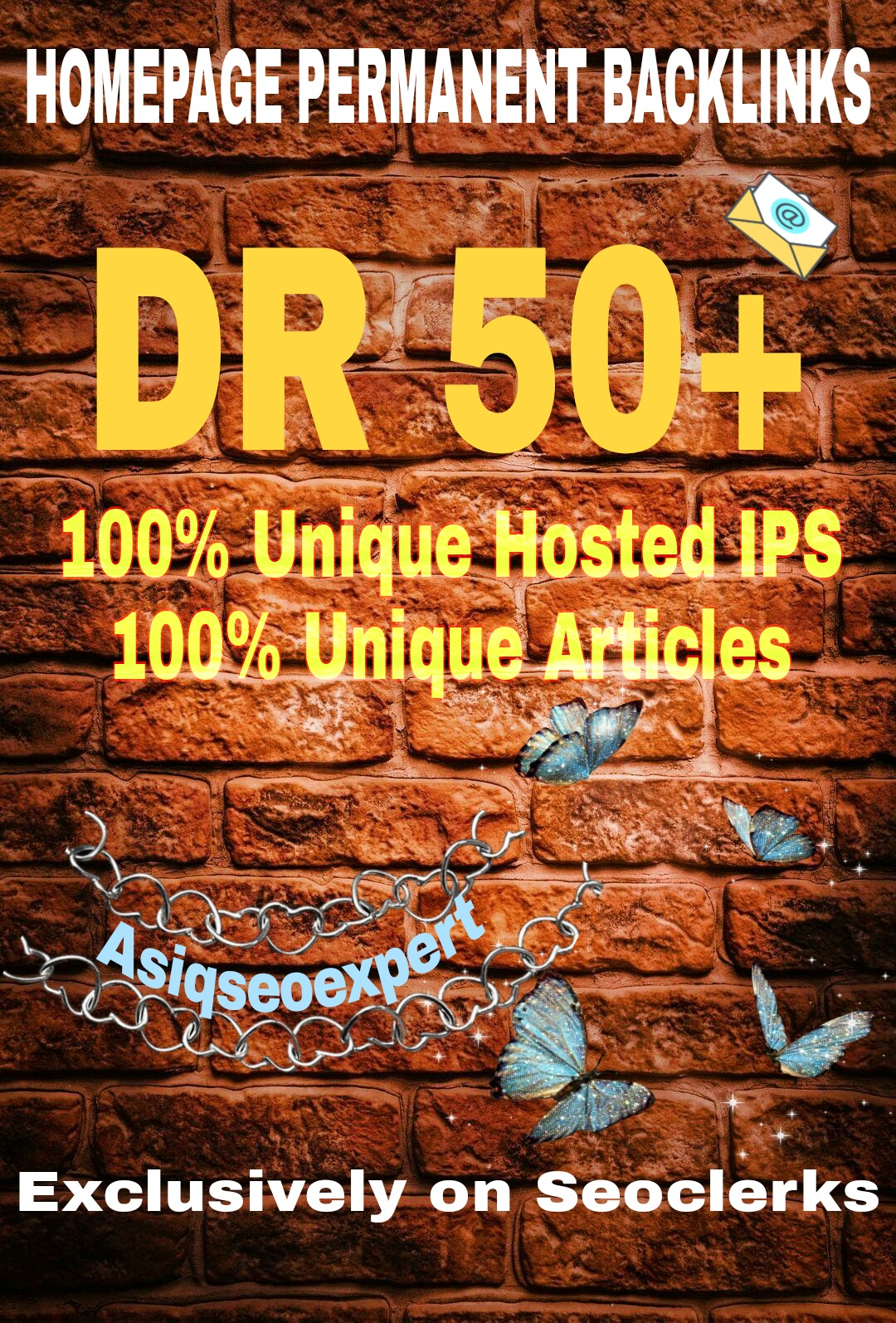 I will create 100 PBN DR 50+ Dofollow permanent homepage pbn backlink