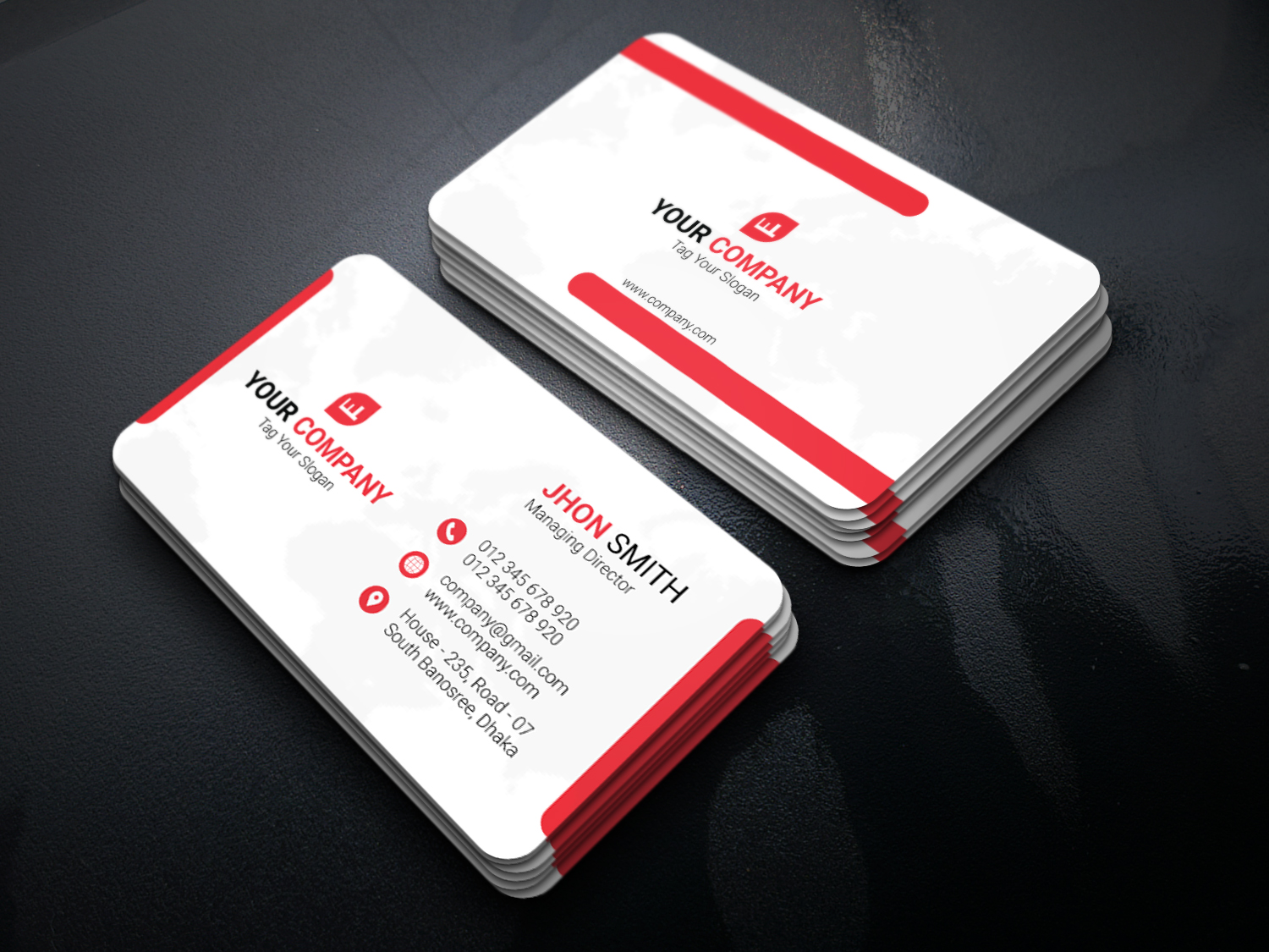 I will design creative professional business card within 12 hours