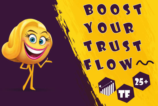 I will create 40 dofollow backlink of majestic trust flow with high tf cf