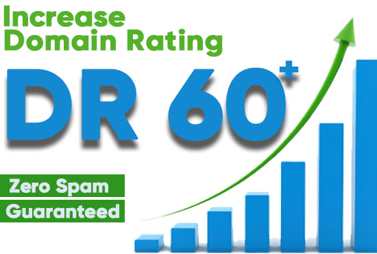 increase domain rating ahrefs DR 60 plus