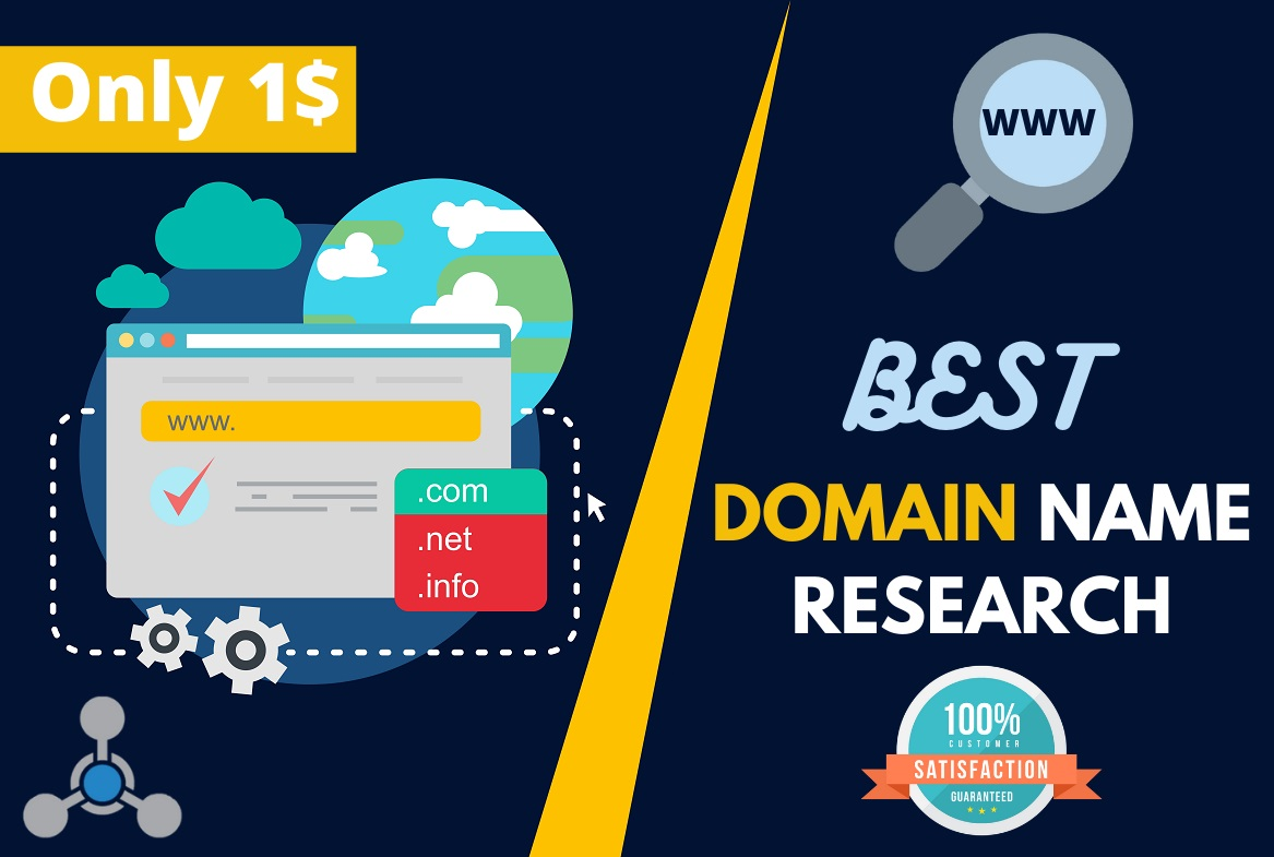 I Will Research & Find Best Domain Name Ideas that Fit You or Your Business Name