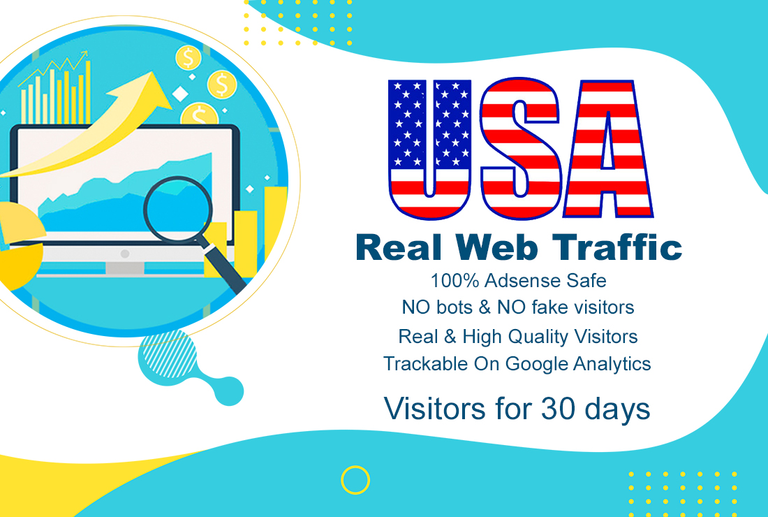 USA targeted real human web traffic for 30 days