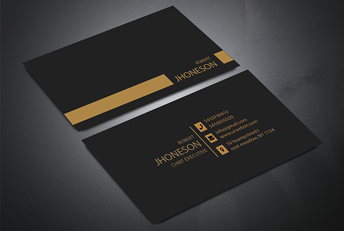 I will do luxury and professional business card design