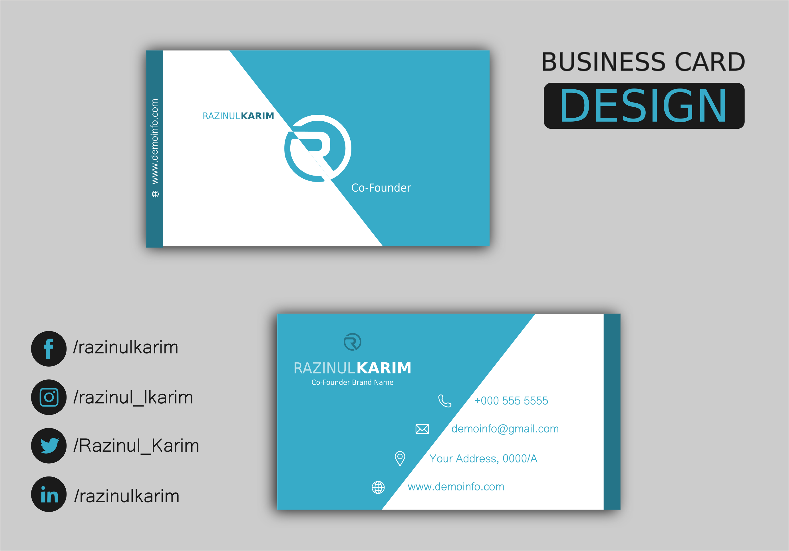 Get Classy Premium Business Card within 12 hours