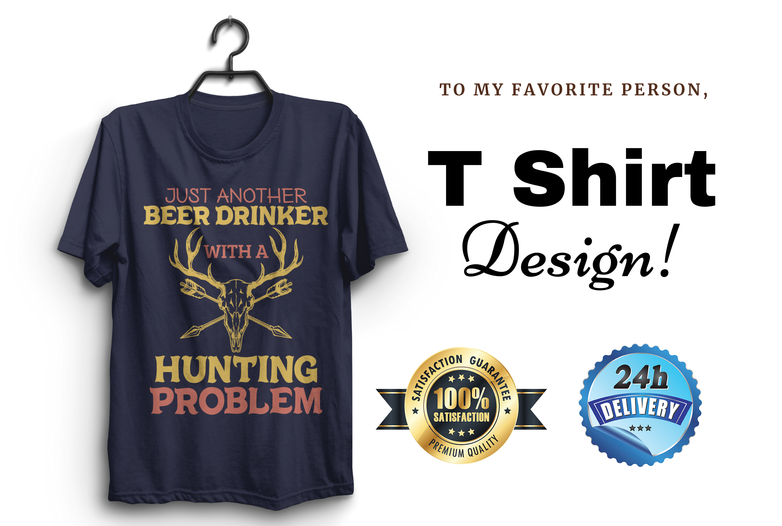 I Will do t shirt design with in 10 hours