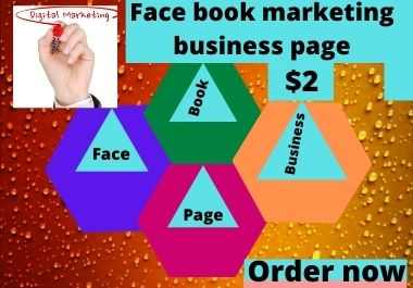 I will create face book business page for your business promotion