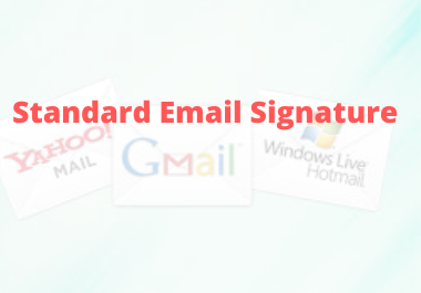 I will make clickable HTML Email signature