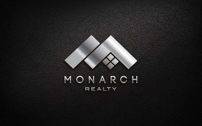 I will design a minimal company logo and business branding identity