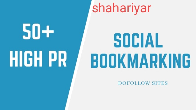 I will provide top 50 high quality social bookmarking backlinks for your website