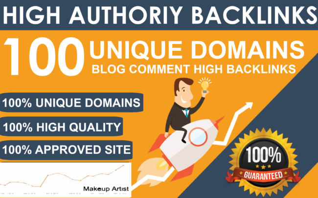 Rank Up Your Site With 100 Blog Comment Backlink On Google Top Page