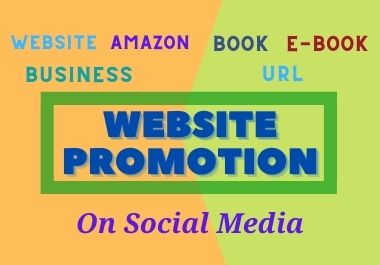 website promotion on 100,000 worldwide audience