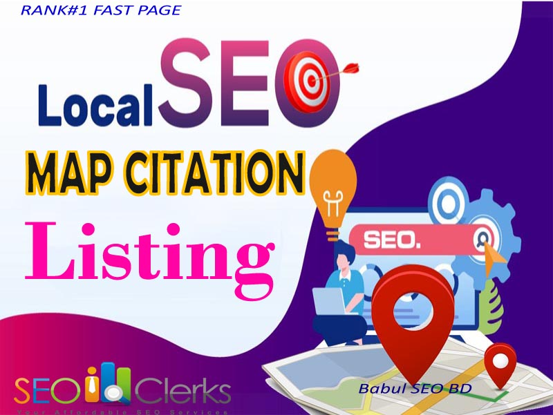 I will create local citation SEO for ranking my business listing