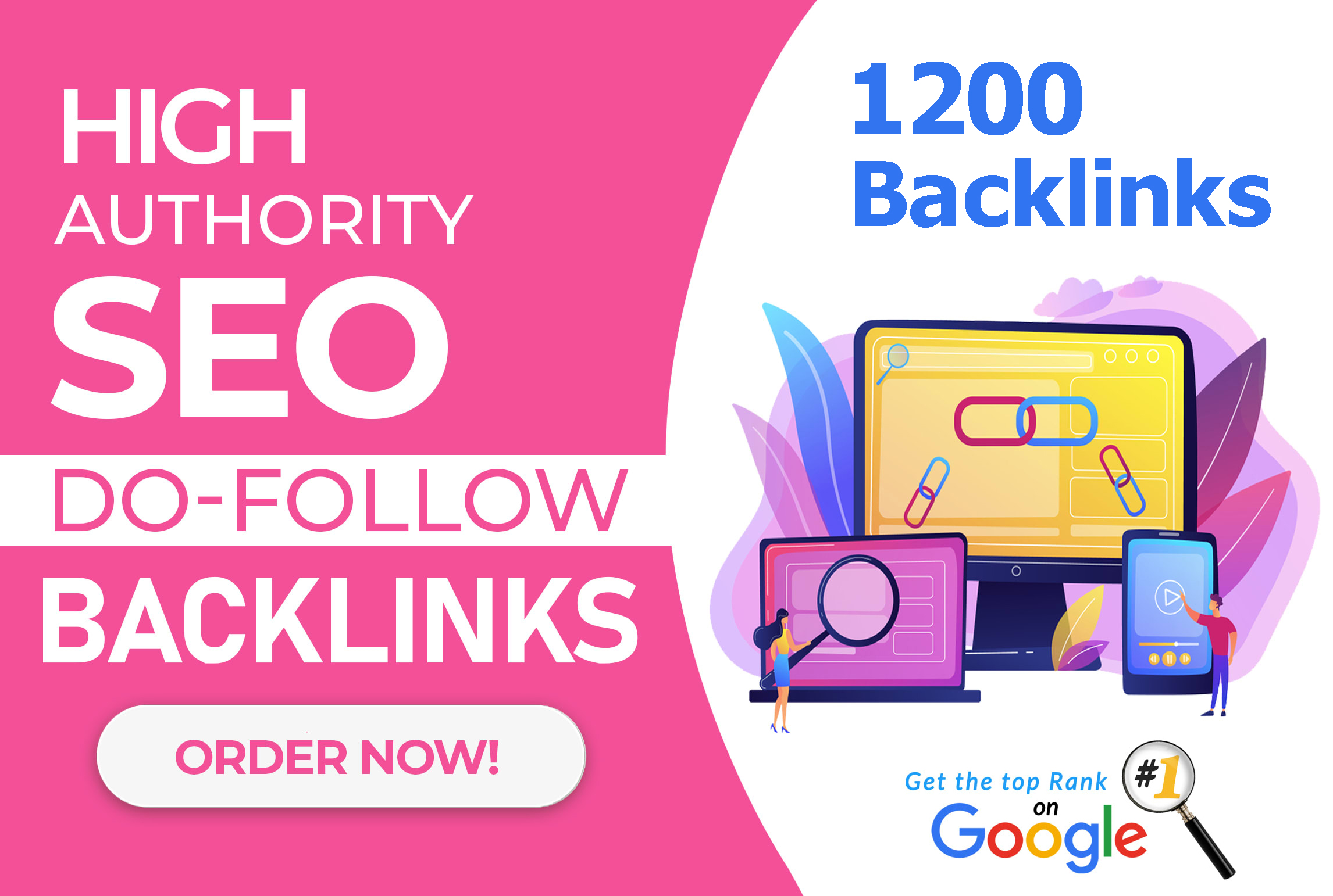 provide 1200 High DA PA high quality dofollow backlinks for seo