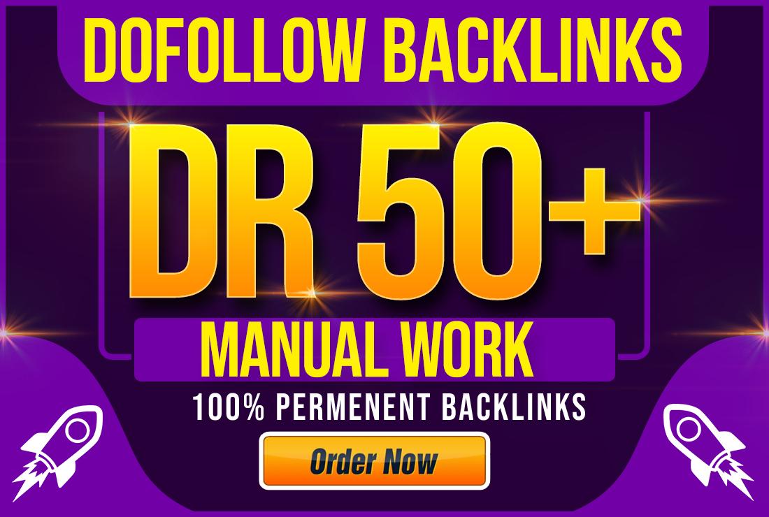 I will create 100 high DR contextual seo dofollow backlinks
