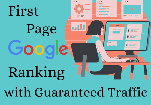 Ensured First Page Ranking on Google