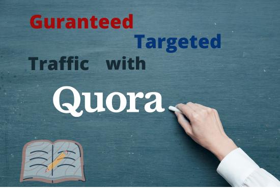 Ensured focused on 70 Quora answer