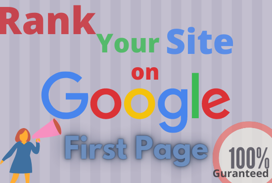 Offer you ensured Google first page ranking with best Link building service.