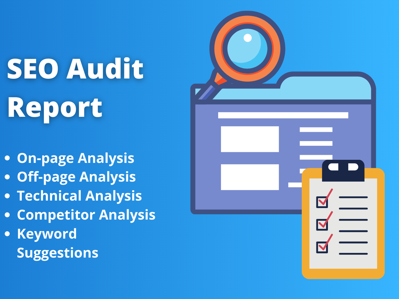 Professional SEO Audit Report SEO Recommendations & Manually Made SEO Audit