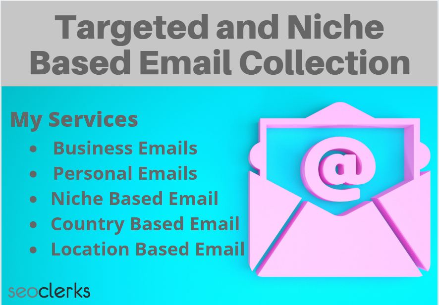 I will collect targeted and niche based 1500 Emails